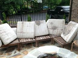 how to clean patio furniture cushion how to rehab an outdoor sectional pottery barn clean clean how to clean patio furniture
