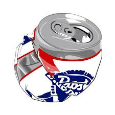 crushed can clipart. pin can clipart beer #14 crushed l