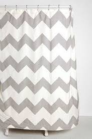 Models Grey Chevron Shower Curtains Outfitters Zigzag Curtain 44 For Living To Modern Design