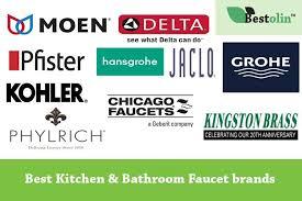 best kitchen bathroom faucet brands 2018