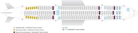 Airbus A310 Seating Chart Air Transat Air Transat Fleet Airbus A330 200 Details And Pictures