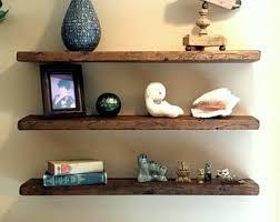 Any Length* Floating Shelves Reclaimed Wood Floating Shelf Wall Shelves  Wood Shelves Rustic Shelf Wooden