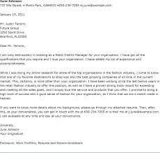 District Sales Manager Cover Letter Retail Job Cover Letter Sample Administrativelawjudge Info