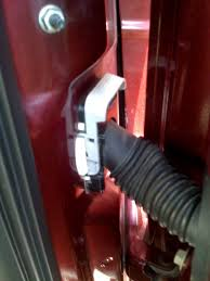 how to fix a broken door wire f150online forums it will be by the hinges in the door this is where the wires pass from the trucks body to the door