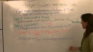 Designing A Hand Warmer Pre Lab Questions Answers Hand Warmer Lab Analysis Questions