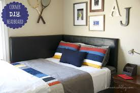 Home Decor The Coolest Corner Headboard Homecrush Bedroom Picture Cool  Headboards Make Your Own Headboard