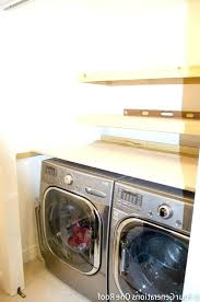 washer dryer countertop front load