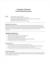 Resume Summary Examples For Customer Service Noxdefense Com