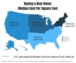 new construction plumbing cost per fixture. Unique Per Map Of The Median Cost Per Square Foot A New Home In US By Region Intended New Construction Plumbing Cost Per Fixture V