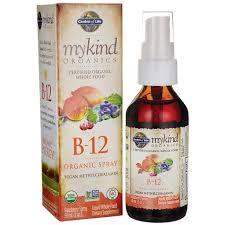 garden of lifemykind organics b 12 organic spray raspberry