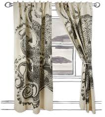 good fabric for octopus shower curtain