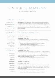 12 Elegant Marketing Resume Templates Resume Sample Template And