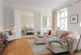 Interior Design White Living Room Compact Apartment Interior Design Ideas With Smart Layout And
