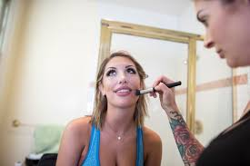 film star august ames photographed on set for rolling stone in 2016