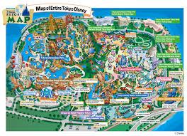 new tokyo disney resort maps  dbm  your independent disney news