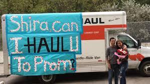Uhaul Truck S U Haul Promposals 2016 My U Haul Storymy U Haul Story