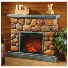 castlecreek imitation stone fireplace
