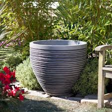 luxury big garden pot decoration ceramic and planter large black tub giant uk perth nz