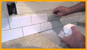 kitchen kitchen backsplash tile installation tips fascinating how to install a simple subway tile kitchen backsplash image of installation tips and stickers