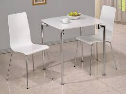 small kitchen table and chairs ikea u shape stretcher cream leather upholstered seat twin hanging lamps