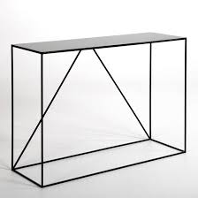 metal console table. image romy metal console table am.pm. g