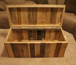 shipping pallet furniture ideas. storage chest made from shipping pallets for sale on etsy maybe this pallet furniture ideas d