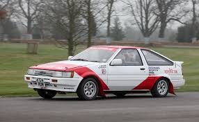 Toyota Corolla AE86 GT group A (1984) - Racing Cars
