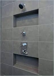 recessed shower tile box a best niche ideas on bathroom wall