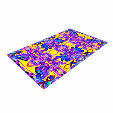dawid roc tropical orchid dark fl 3 purple yellow woven area