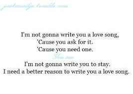 Cute Song Quotes Adorable Beautiful Amazing Song Quotes Cute Quotes From Song Lyrics On