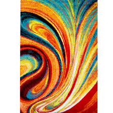 bright multi colored area rugs modern 19 stunning in 36
