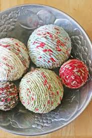How To Decorate Styrofoam Balls Knit Ball Ornaments 100 RGB Christmas Pinterest Old sweater 16
