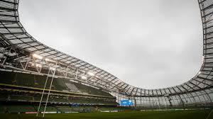 Irish Rugby Aviva Stadium Map