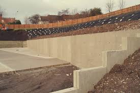 slope ilisation solution dudley can limited building a retaining wall on a slope