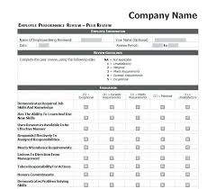 Job Performance Evaluation Form Templates Employee Performance Evaluation Form Template Word Evaluations