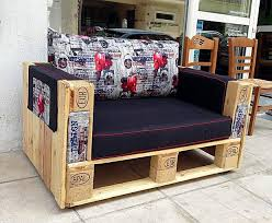 Wood pallet furniture ideas Pallet Sofa Pallet Furniture Ideas Creative Diy Armchair Colorful Cushion Upcycled Wonders 39 Outdoor Pallet Furniture Ideas And Diy Projects For Patio