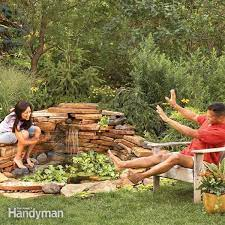build a backyard waterfall in one