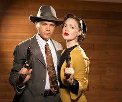 "holliday grainger bonnie and clyde style holliday grainger and emile hirsch in ""bonnie and clyde"" 2013"