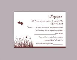rsvp card template diy wedding rsvp template editable word file download rsvp template
