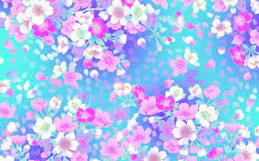 Flowery wallpaper, Floral pattern ...