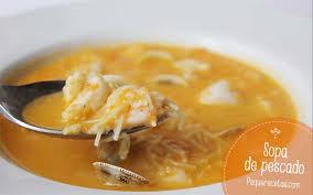 Charming Sopa De Pescado. 1 RECETA DE ...
