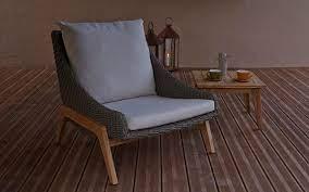retro rattan effect chair coastal