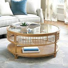 beverly rattan coffee table coffee