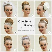 Different Bun Hairstyles Inspiration 8 Ways Top Knot Bun Hair Comes The Bride