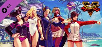 Street Fighter 5 Steam Charts Street Fighter V 2018 Summer Costume Bundle On Steam