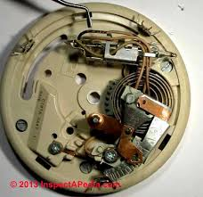 heat anticipator settings on room thermostats how & why to adjust Honeywell Round Thermostat Wiring Diagram heat anticipator component of a room thermostat Honeywell Round Thermostat Installation