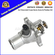 Aliexpress.com : Buy Coolant Thermostat Assembly for Chevrolet ...