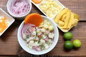 Asian seafood ceviche recipe