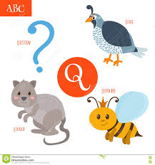 Image result for illustrated alphabet, Q