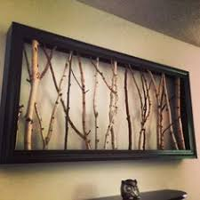 framed tree limbs picture frame with tree branches for the home on birch tree branch wall art with 15 creative wall art ideas for your home pinterest branch art